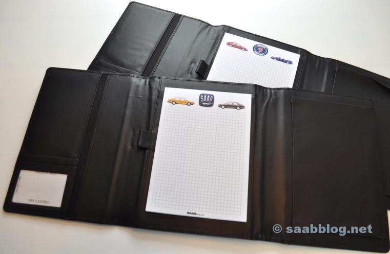 Exklusiva Saab Bordhappen från läder.