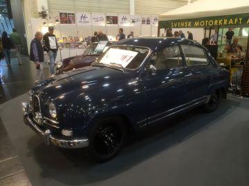 Un poco más tarde, el clásico de Saab se vendió. Foto: Götz
