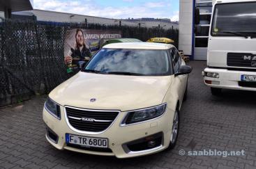 Das einzigste Saab 9-5 NG Taxi in Deutschland.