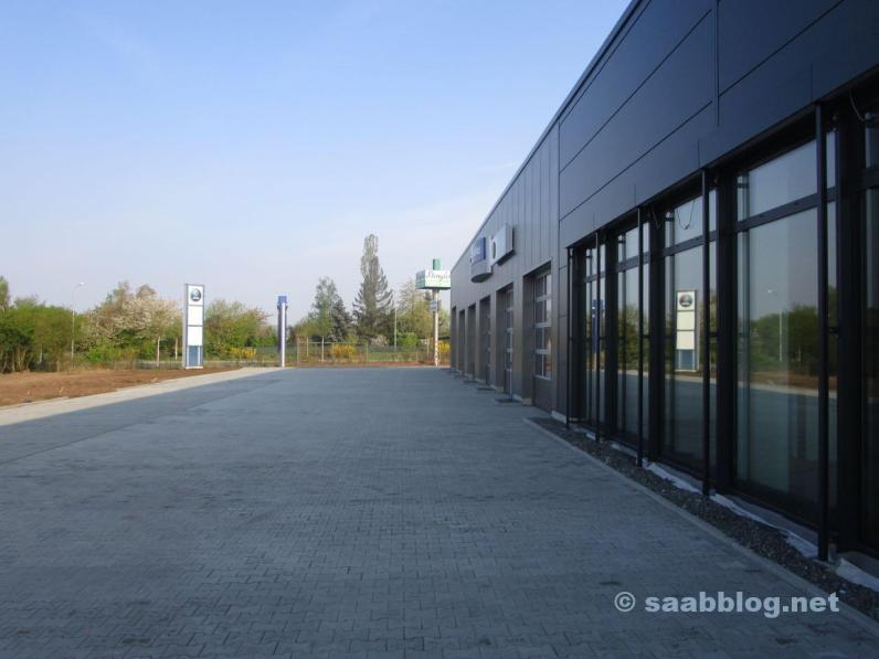 En ny Saab-plats i Bamberg