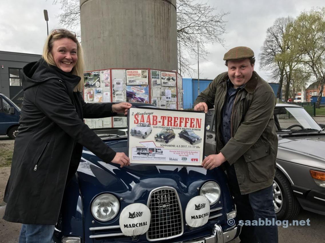 Nicolina y Johan visitan Hamburgo