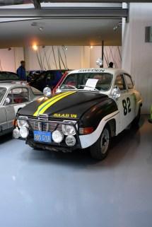 E restaurado Rally Saab. Imagem: JFK