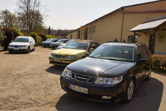 Spring departure of the Saab friends Thuringia