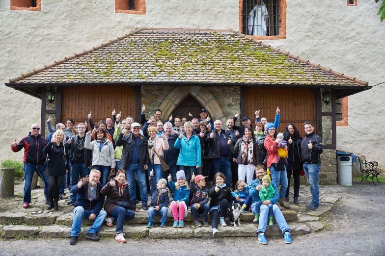 Erinnerungsfoto der Teilnehmer