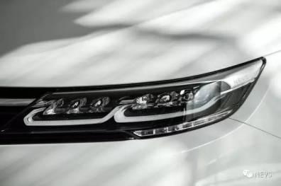 LED-koplampen in detail. Afbeelding: NEVS
