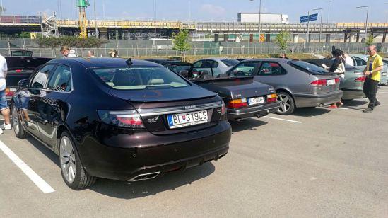 Saab Treffen Wien. Impression. Bild: Roland