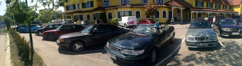 Saab conociendo a Viena. Impresión. Imagen: Roland