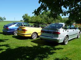 Viggen, Aero och Cabriolet. Foto: Hans