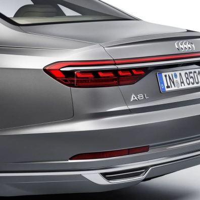 Audi A8 Heck 2018. Bild: Audi AG
