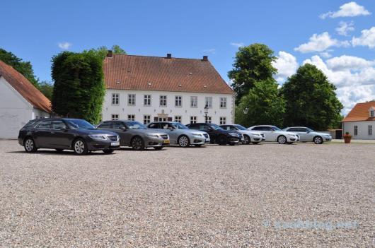 Saab 9-5 NG reunião 2014.