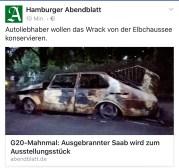 Das Hamburger Abendblatt nimmt das Thema auf.
