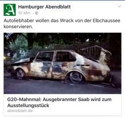 De Hamburger Abendblatt neemt het onderwerp op.
