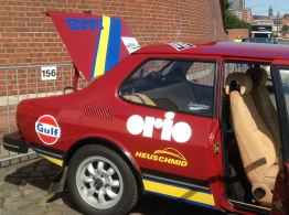 Und halten auch für Orio die Fahne hoch! Bild: Gerd und Robert Wagenheimer