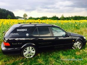 ... que do antigo Saab