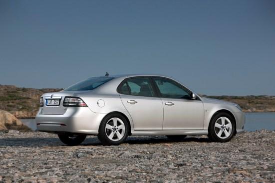 También por encima del promedio seguro. Saab 9-3 II. Imagen: Saab Automobile AB