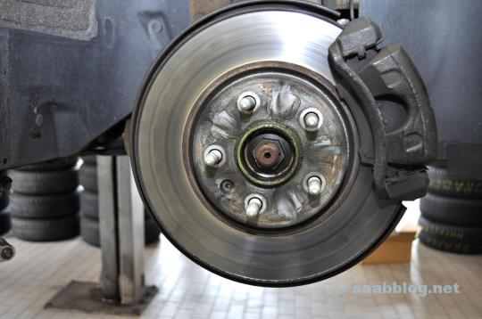 The old brakes ..