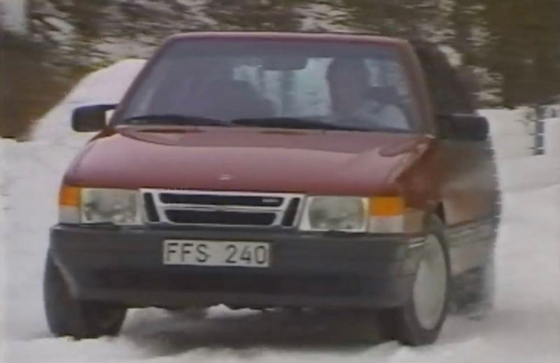 TCS system in the Saab 9000