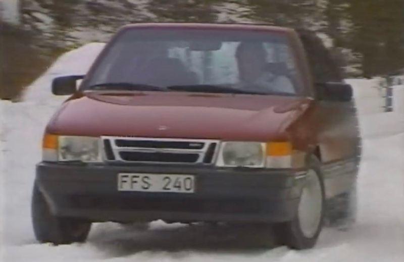 TCS-system i Saab 9000