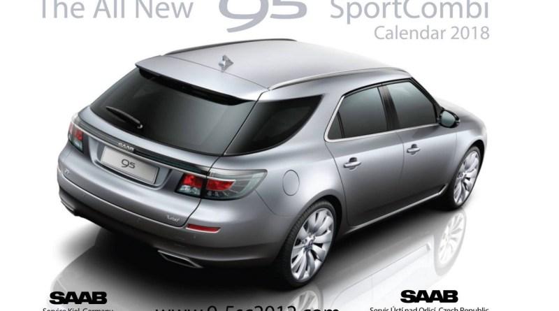 Saab 9-5 calendar