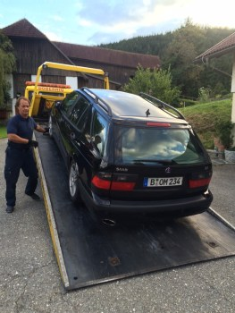 Saab 9-5. Saab Unvernunft oder Liebe?