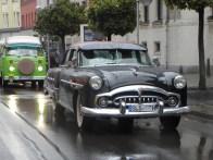 Rock'n'Roll, Baby! Ein Packard Patrician 400, späterer Sieger in der Kategorie Klassiker bis 1960.