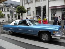 Nessun vincitore ufficiale, ma in termini di cilindrata, spicca su ogni quartetto d'auto: una Cadillac Coupé de Ville di 1976 con motore 8,2-l. Non consumo, ma spostamento.