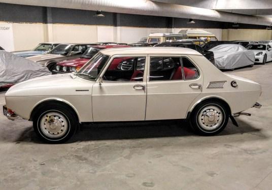 Sehr selten, ein früher Saab 99. Bild: Bilweb Auctions
