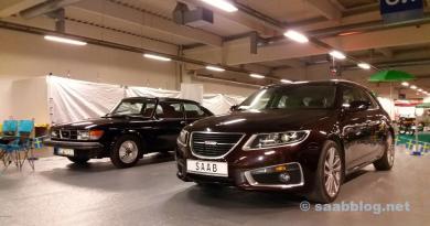 Saab 9-5 NG SC på Essens Motor Show