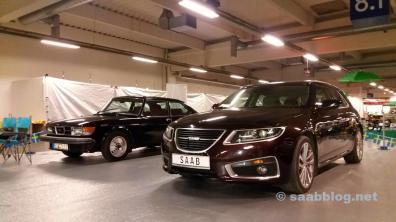 Saab 9-5 NG SC no Essen Motor Show