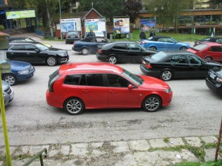 Rangordnade vid Saabsessionen Slovakien 2016 är Saaberna tydligt bekväma