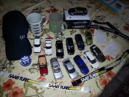 Min Saab-samling