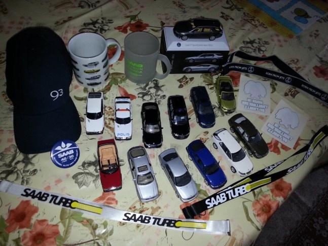 Minha coleção Saab