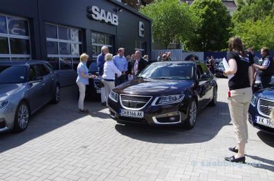 International Saab 9-5 meeting