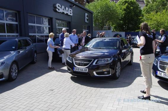 Internationales Saab 9-5 Treffen