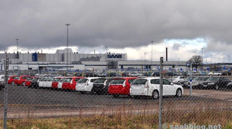 Saab Fabrik 2011