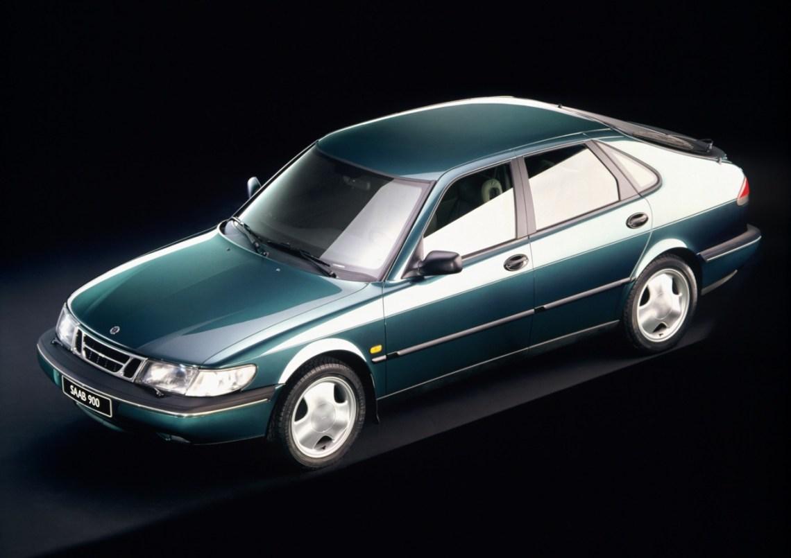 Saab 900 II druk op foto 1993