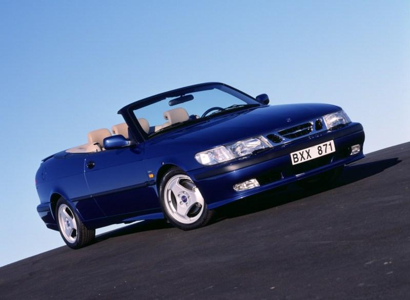 Saab 9-3 Cabriolet. Bild: Saab Automobile AB/Archiv saabblog.net