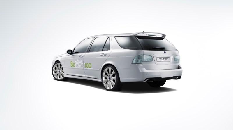 Concepto de Saab 9-5 BioPower 100