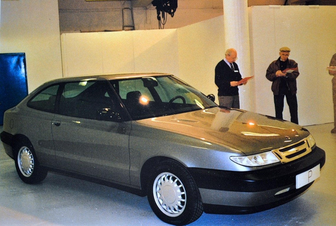 Rascunho inicial do projeto Saab 104 Car Clinic