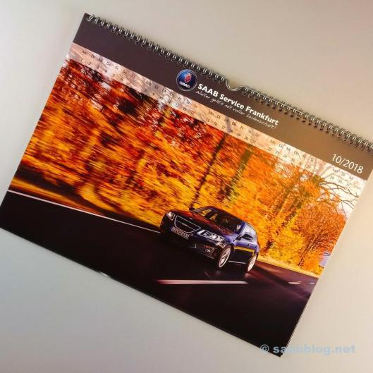 Saab calendar 2018