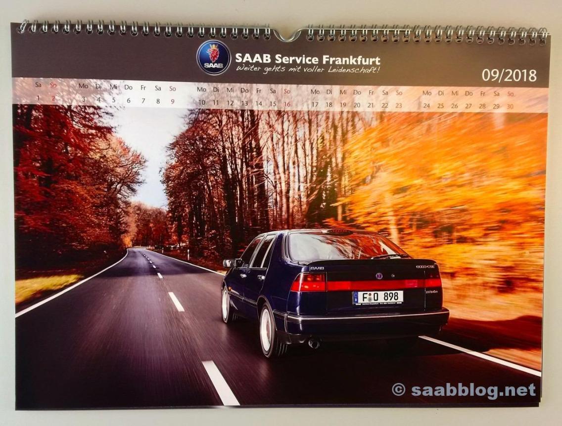 Saab Kalender 2018
