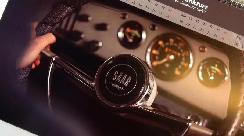 Calendrier Saab 2018