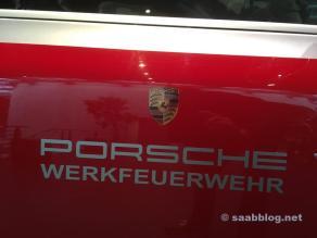 Porsche brandkåren