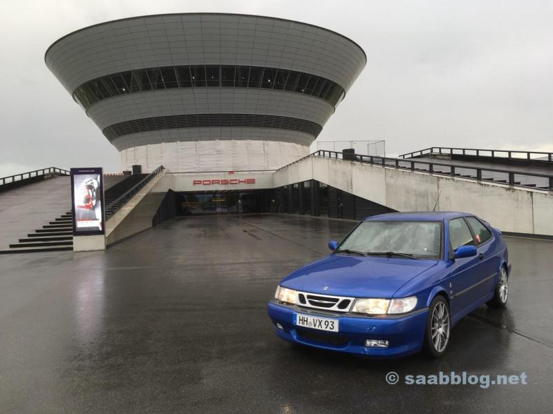Saab encontra Porsche