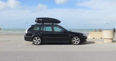 Com o Saab ao mar
