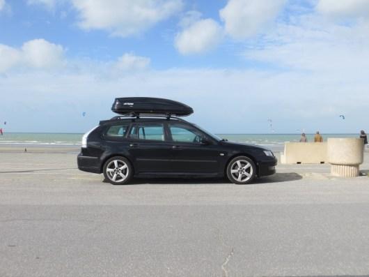 Con la Saab al mare