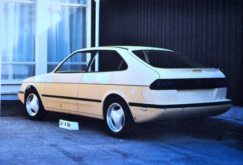Saab Projekt 102 im August 1989