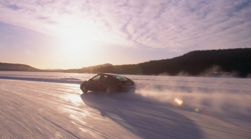 Saab en sneeuw