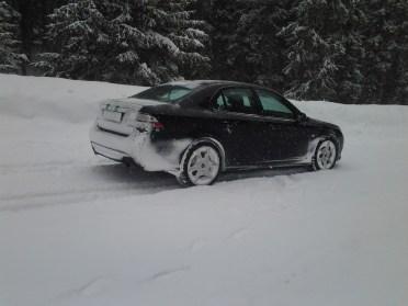 Flüela passerar nära Davos