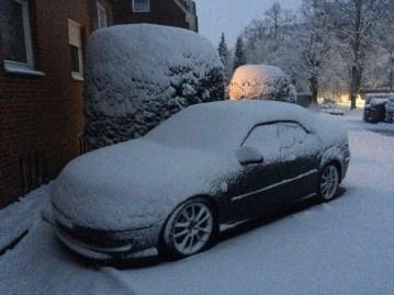 Una decappottabile è winterized. Soprattutto quando viene da Saab